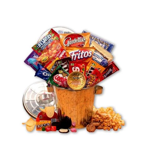 Gift Basket Drop Shipping Snack Survival Gift Can