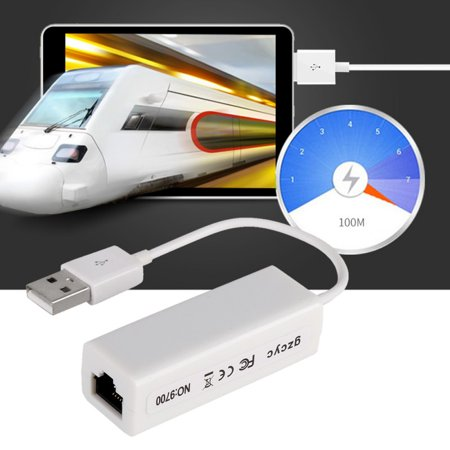 USB Ethernet Adapter USB to RJ45 LAN Network Card for Windows 10 8 8.1 7 XP Mac OS under v10.4 Laptop PC