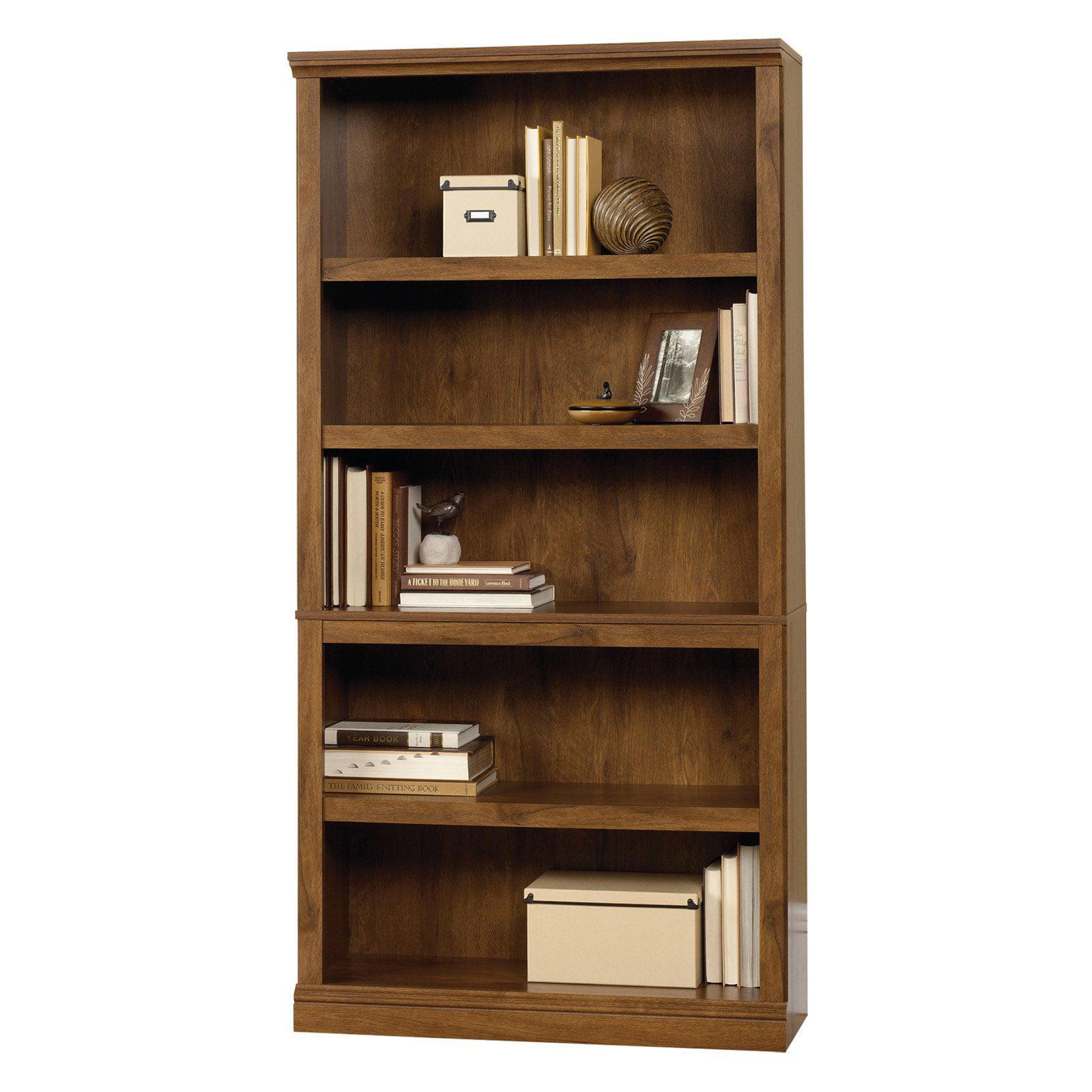 Sauder Select 5-Shelf Bookcase, Multiple Finishes