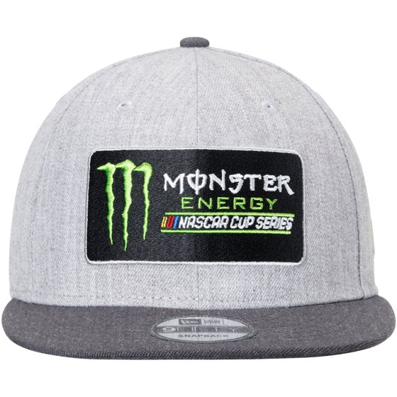 77a2274d73d NASCAR New Era Monster Energy Cup Series 9FIFTY Snapback Adjustable Hat - Heathered  Gray - OSFA