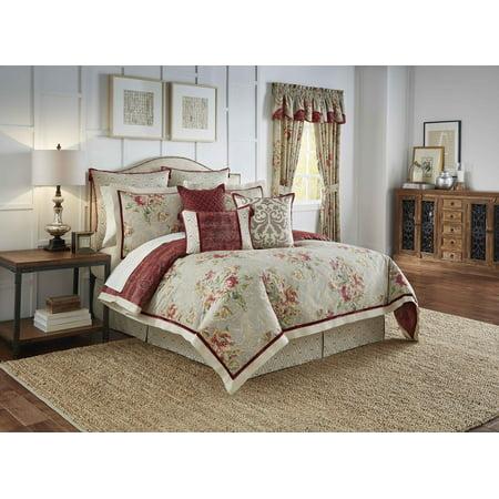 Waverly Fresco Flourish 4 Piece Reversible Bedding Collection