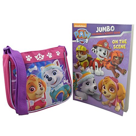 nickelodeon paw patrol for girls 2 pieces gift set mini handbag with coloring book - Nickelodeon Coloring Book