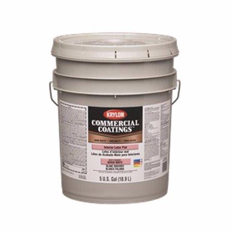 Sherwin Williams K21117250 20 Krylon Latex Paint Bronze Semigloss White 5 Gal