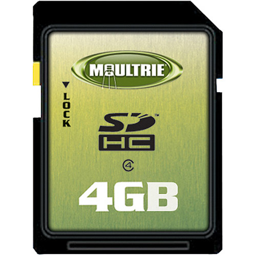 Moultrie 4GB SD Memory Card