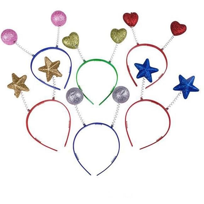 DDI 1910140 Glitter Party Head Boppers