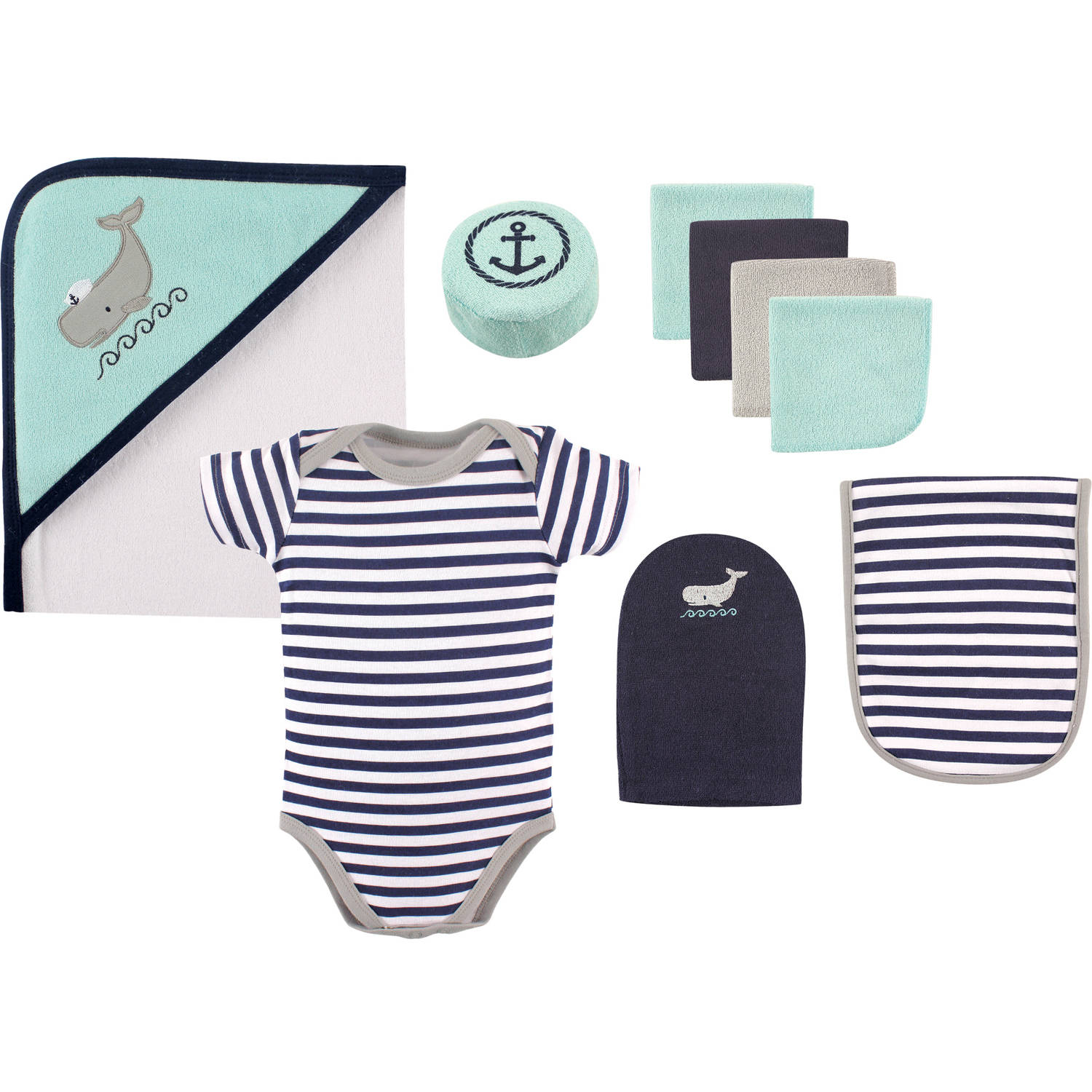 Hudson Baby Boy Bath Giftset, 9pc