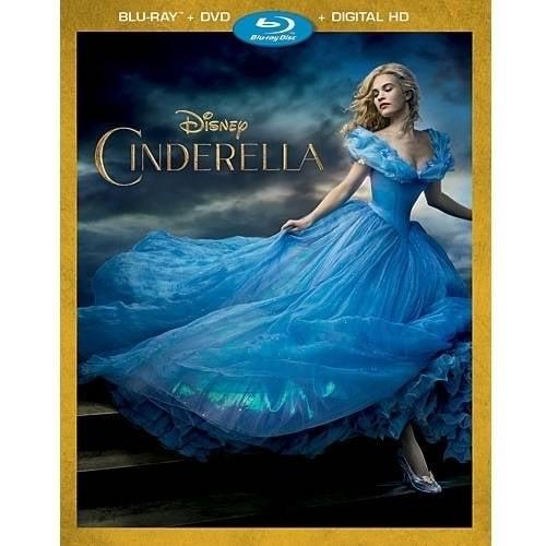 Cinderella (2015) (Blu-ray + DVD + Digital HD) by Buena Vista