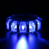 15 LED Car Magnetic Flashing Light Strobe Warning Lights Rotating Beacon
