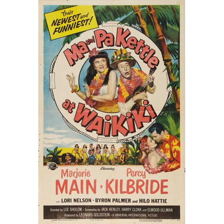 Ma and Pa Kettle at the Fair - movie POSTER (Style B) (11