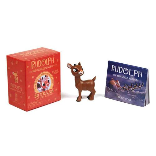 Rudolph the Red-Nosed Reindeer Kit: His Nose Glows!
