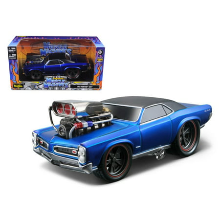 1966 1967 Pontiac GTO Blue \Muscle Machines\