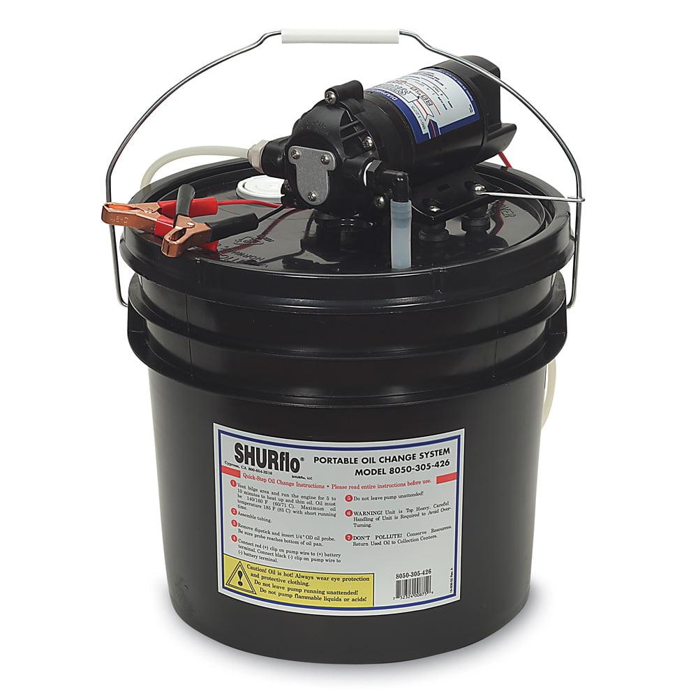 Shurflo 1.5 GPM Oil Change/Winterizing System, 12VDC