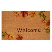 Autumn Breeze-Coir with Vinyl Backing Doormat (17-inches x 29-inches)