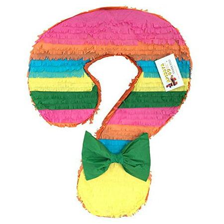 APINATA4U Gender Reveal Question Mark Pinata Fiesta Theme for $<!---->