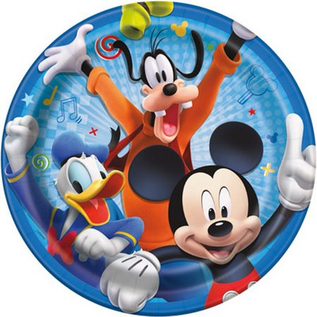 Mickey and the Roadster Racers 9 Inch Plates [8 Per Package] ()