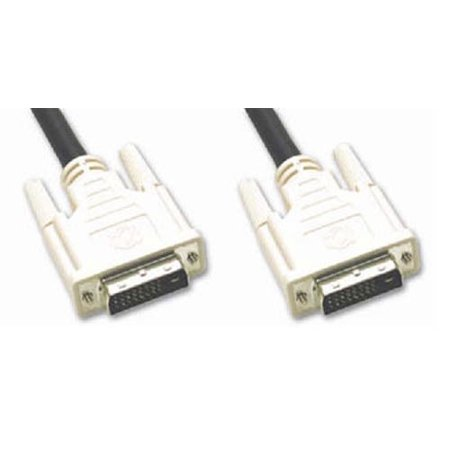 10 ft DVI-D Male to Male M-M Dual Link Video Cable 10' Foot by BattleBorn - NEW