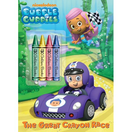The Great Crayon Race (Bubble Guppies) - Great Halloween Books For Toddlers