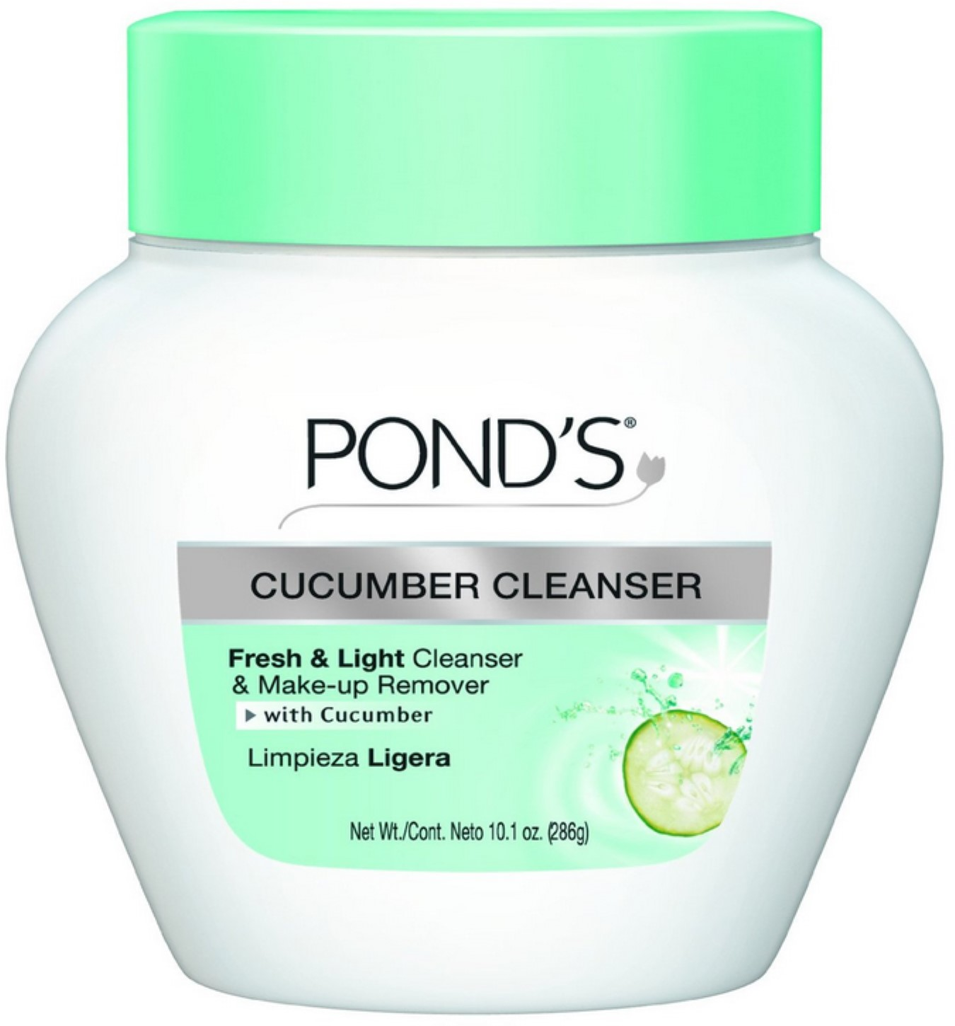 Pond's Deep Cleanser and Make-Up Remover Cucumber 6.50 oz (Pack of 6)