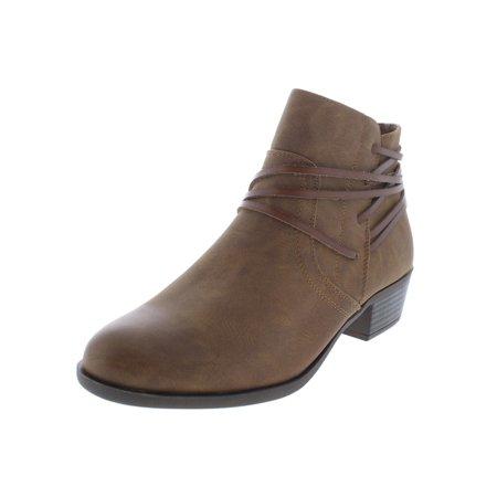 5d00c99746b Madden Girl - Madden Girl Womens Become Faux Leather Heels Booties -  Walmart.com