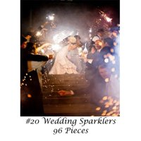 "20"" Wedding Sparklers 96 Count"