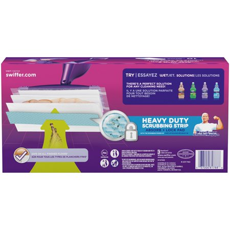 Swiffer Wetjet Heavy Duty Mopping Pads 10 Ct Box Best