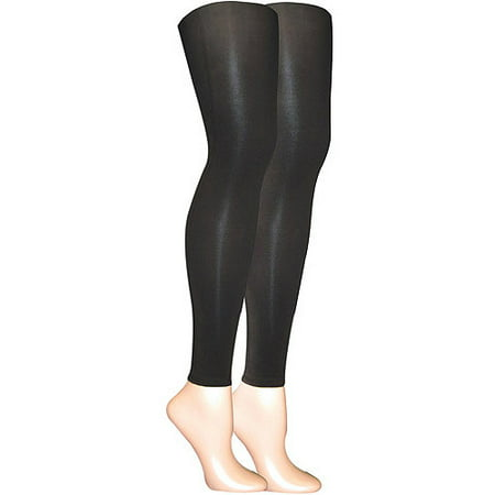 Women's Microfiber Footless Tights