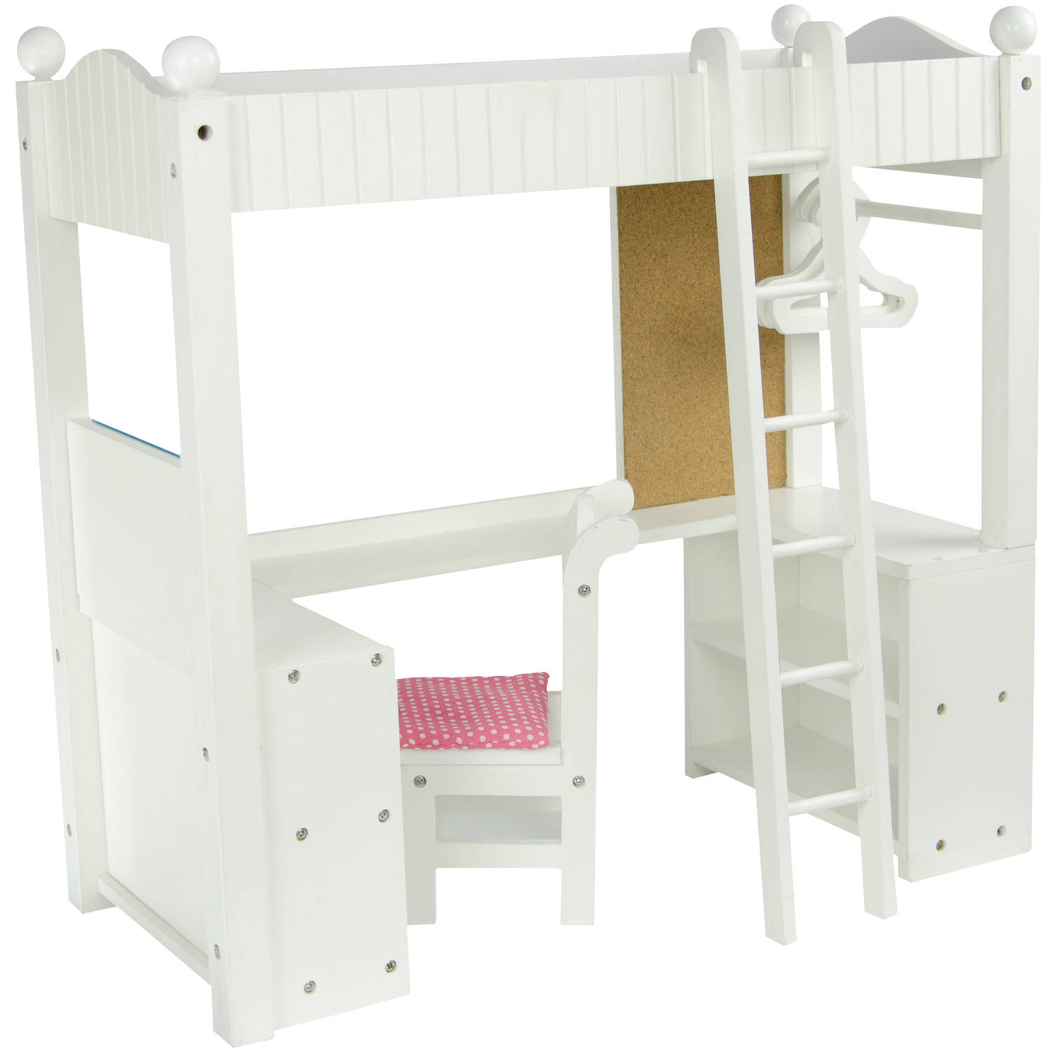"Olivia's Little World - Little Princess 18"" Doll College Dorm Double Bunk Desk"