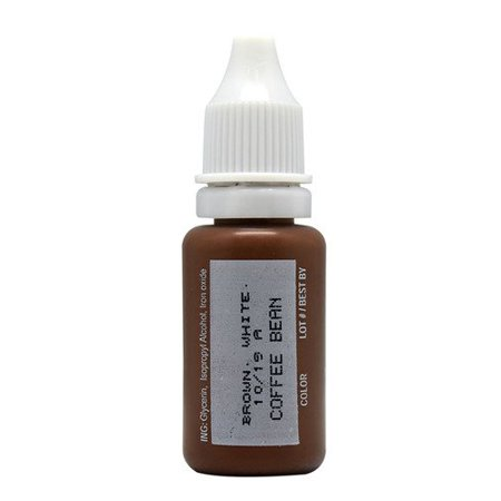 15ml MICROBLADING BioTouch COFFEE BEAN Cosmetic Pigment Color Tattoo ...