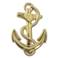 Anchor 2 Lapel Pin