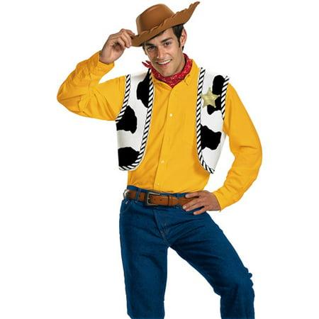 Woody Adult Halloween Costume - One Size - Walmart.com