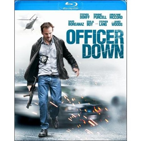 Officer Down  Blu Ray   Widescreen