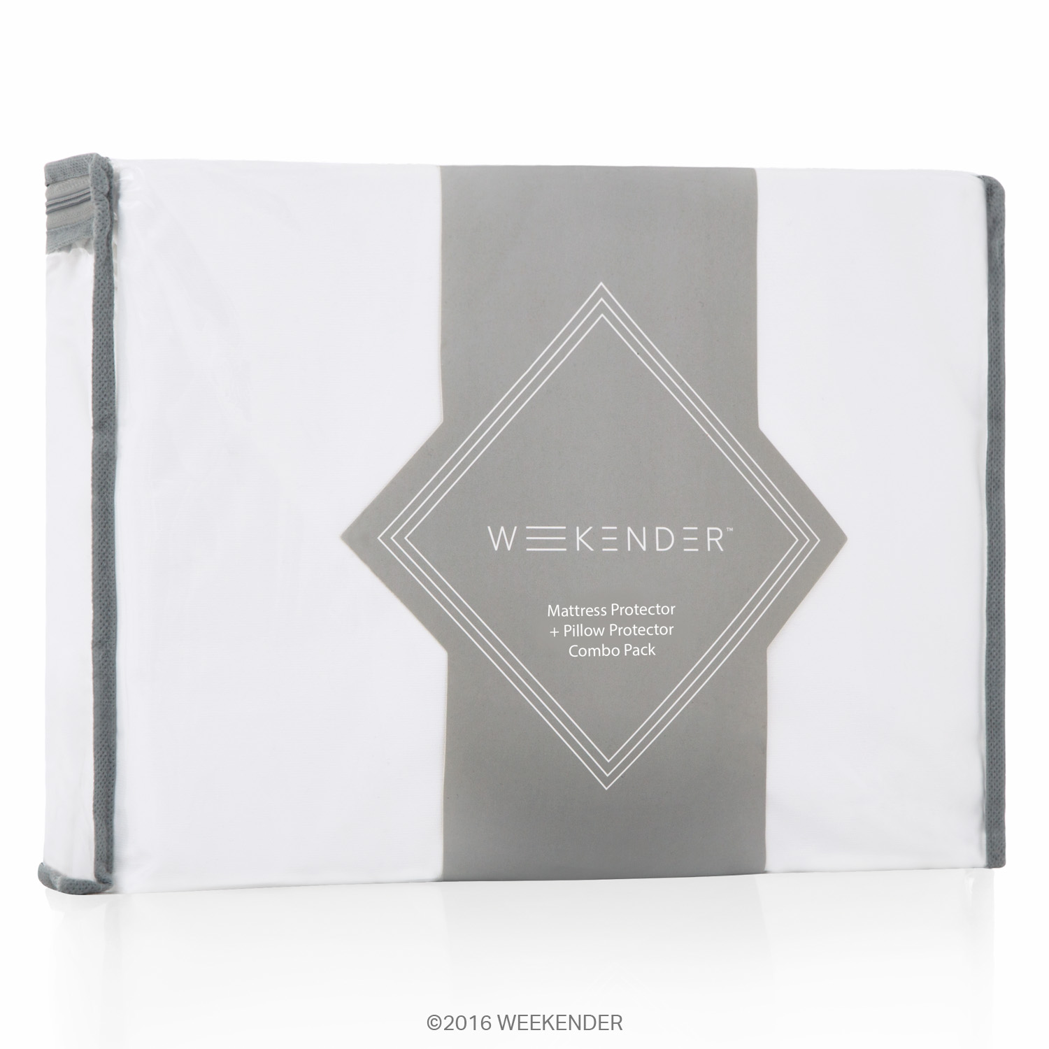 Weekender Fitted Jersey Mattress Protector with Bonus Pillow Protectors by WEEKENDER