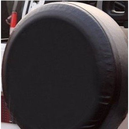 Isuzu Spare Tire Cover - RoyalCraft Large Black Universal Spare Tire Cover fits 26.5