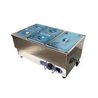 TECHTONGDA Electric Commercial Bain-marie Buffet Food Warmer Steam Table 5-Pan