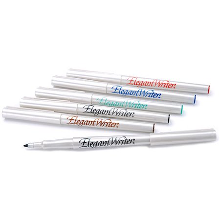 Speedball Calligraphy 6-Color Fine Marker - Calligraphy Supplies