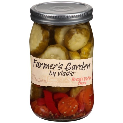 Farmer's Garden by Vlasic Bread & Butter Pickle Chips, 26 oz