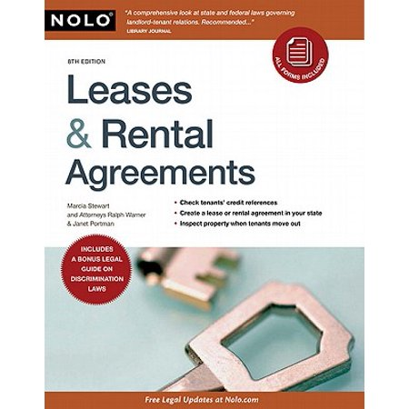 Leases & Rental Agreements - eBook (Lease Agreement Software)