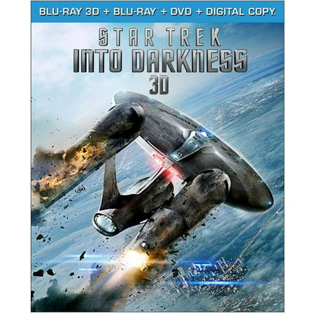 Star Trek Into Darkness  Blu Ray   Blu Ray   Dvd   Digital Copy
