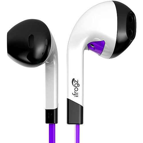 iFrogz InTone Earbuds, Black