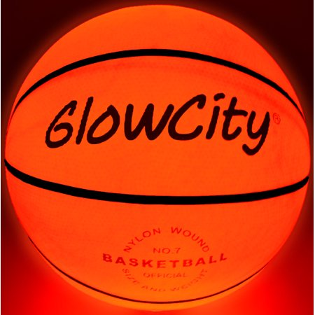 Light Up Basketball-Uses Two High Bright LED's (Official Size and Weight) - Light Up Toys.com