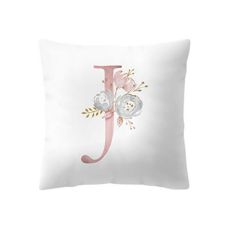 45x45 cm Kinder Zimmer Dekoration Brief Kissen Englisch Alphabet pillowcases - Halloween Dekoration Ideen