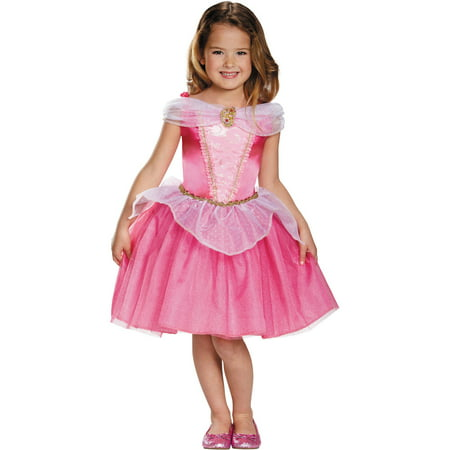 Disney Aurora Halloween Costume (Aurora Classic Girls Child Halloween)