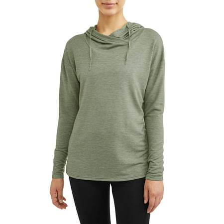 - Women's Active Lux French Terry Tunic Hoodie