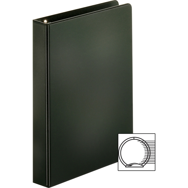 Business Source Basic Round Ring Binder 1 Quot Binder
