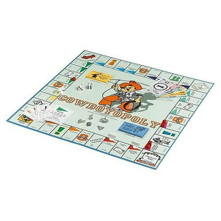 Late for the Sky COWB Oklahoma State University Cowboyopoly Board Game