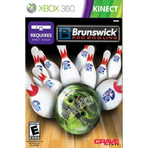 brunswick pro bowling (requires kinect) - xbox 360