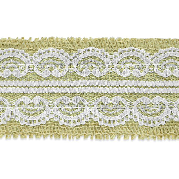Expo Int'l 5 Yards of Darla Jute Lace Trim