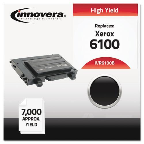 Innovera 6100B Remanufactured, 106R00684 (Phaser 6100) Toner, 7000 Yield, Black