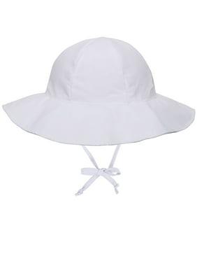 Circo Unisex Baby Sun LG Cap Blue Flowers UV Protection 50 NEW