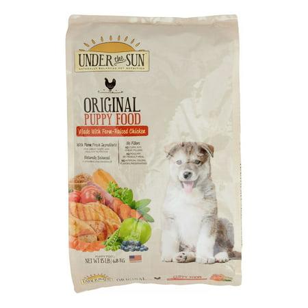 Under The Sun Original Chicken Puppy Dry Dog Food, 15 Lb